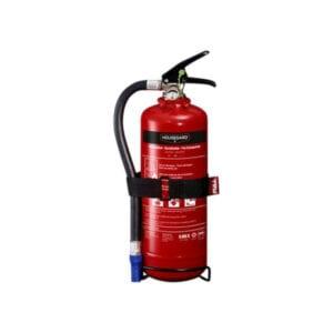 Brannslukningsapparat 2 kg Housegard (abc pulver) m_brakett